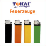 Werbefeuerzeuge, Feuerzeuge mit Logo, Tokai Feuerzeuge, Hinze Werbeservice Berlin Brandenburg