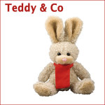 Werbeträger, Teddy, Plüschtier, Quietscheente, lustige Ente, Logo Teddy, soft kuschelweich, Mr.Bert, Filz