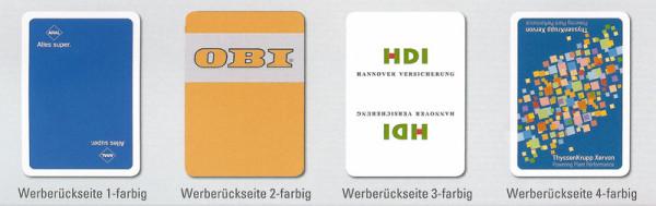 FSC Spielkarten, individueller Aufdruck, Spielkarten bedrucken, Hinze Werbeservice Berlin Brandenburg
