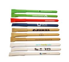 Papierkugelschreiber, Ökokugelschreiber, Kugelschreiber, bunte Kugelschreiber, Kugelschreiber mit Logo,100 % Papierkugelschreiber, Öko Kugelschreiber aus Papier, Zuckertütenform, Biokugelschreiber, Re